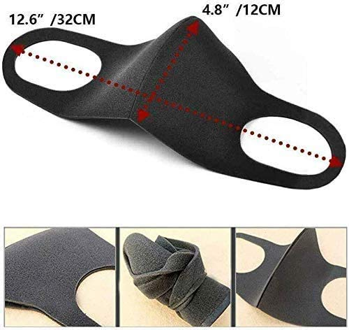 Innoo Tech 9 Stück Sport Fashion Unisex anti-staub, Wiederverwendbare und waschbare Maske zum Laufen