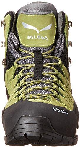 Salewa Mens Alp Flow Mid Gtx Alpine Trekking Boots Basilico / Foliage