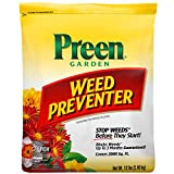 Preen 264107 Garden Weed Preventer - 13 lb. - Covers 2,080 sq. ft.