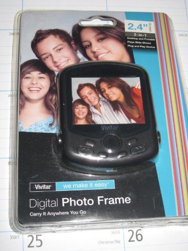 Vivitar Digital Photo Frame 2.4 Screen (Vivitar Digital Photo Frame)
