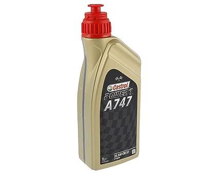 Aceite Castrol Racing 2T A747, con rizinusölanteil: Amazon ...