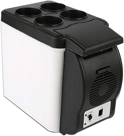 Feifei Mini Nevera Refrigerador pequeño para automóvil 6L ...