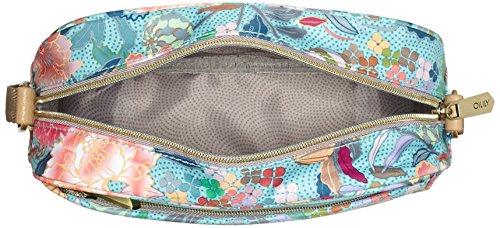 Oilily Oilily S Shoulder Bag - Bolso de hombro Mujer Blau (Pool Blue)