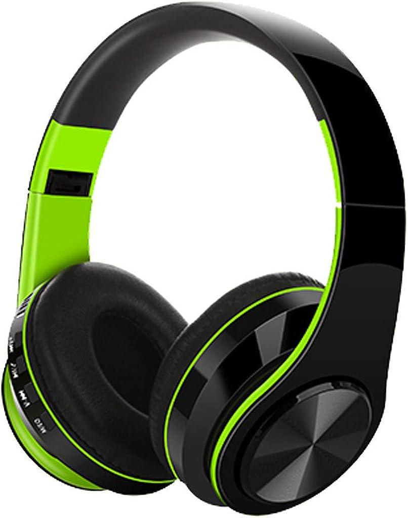 VIASA_ Bluetooth Headphones,Stereo Subwoofer Computer Sports Outdoor Wireless Supra-Aural Stereo Earmuff Headset