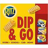 RITZ Handi-Snacks Crackers and Cheese Dip, 6 - 0.95