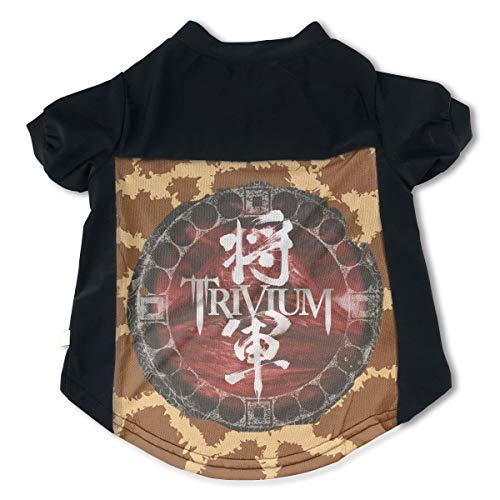 Pets Trivium Shogun Adorable Music Band Fans Pet Tee Clothing M Gift