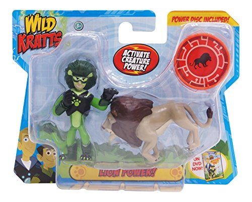 Wild Kratts Toys - 2 Pack Creature Power Action Figure Set - Lion Power (Wild Kratts Figures compare prices)