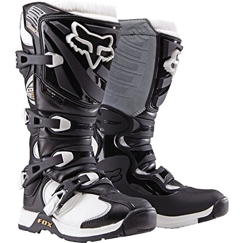 Motocross Riding Boots (Black/White Sz 5 Fox Racing Comp 5 Women's Boots Motocross Boots)