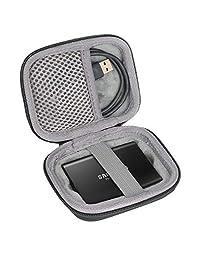 Co2CREA - Funda rígida de viaje para Samsung T3 T5 (250 GB, 500 GB, 1 TB, 2 TB, SSD USB 3.0, unidades de estado sólido externas)