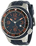 Swiss Legend Men's 21818S-C-AT Neptune Navy Blue Dial Navy Blue Silicone Watch, Watch Central