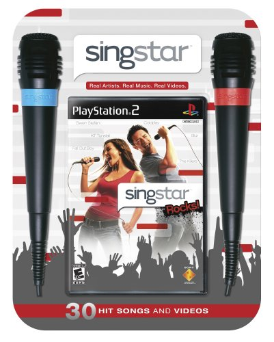 Singstar Rocks Bundle (w/ microphone) - PlayStation 2 (Ps2 Mic Singstar)