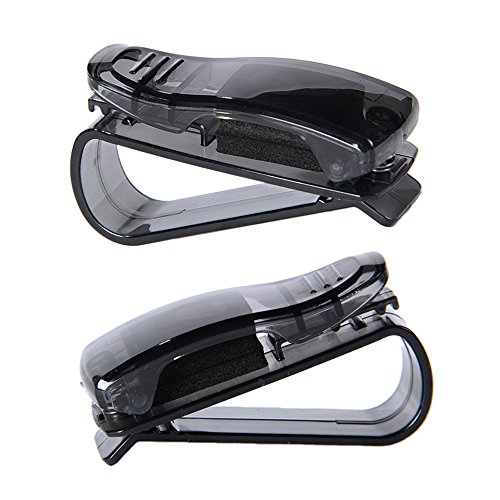 Universal Auto Car Sun Visor Glasses Sunglasses Ticket Recei