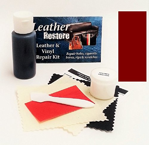 Leather Repair Kit With Ready To Use Color Maroon Buy