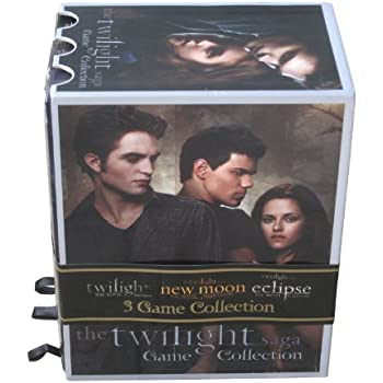 Amazon.com: Cardinal Games Twilight Trilogy Bookshelf Game Set ...