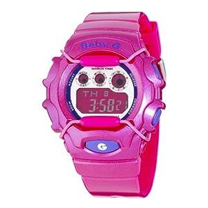 51rwI6ERb9L. SS300  - Casio Women's BG1006SA-4ACR Baby-G Dark Pink Digital Sport Watch