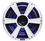 450 watt subwoofer - Fusion Entertainment SG-SL10SPW 450W Sports Marine Subwoofer with LED, White, 10