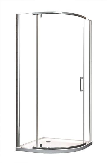 Mampara de 100 x 200 cm para portátil (cuadrante) incluye de ducha: Amazon.es: Bricolaje y herramientas