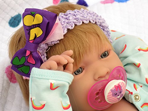 My Cute Baby Blond Realistic Berenguer 17