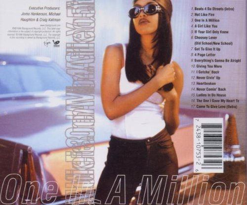 Image result for aaliyah one in a million cd