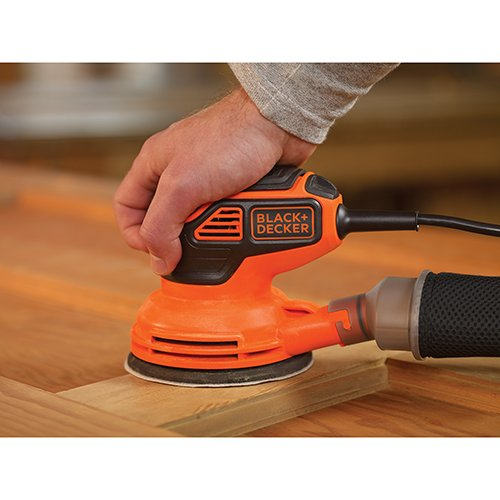BLACK+DECKER BDERO600 Random Orbit Sander with Paddle Switch Actuation by BLACK+DECKER (Image #3)
