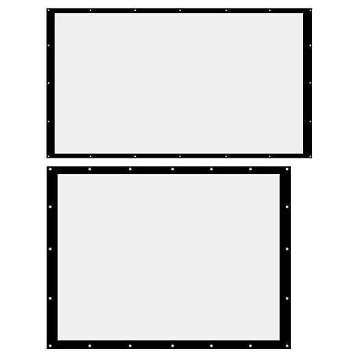 NEHARO Pantallas para proyectores 180 Pulgadas de Pared portátil ...