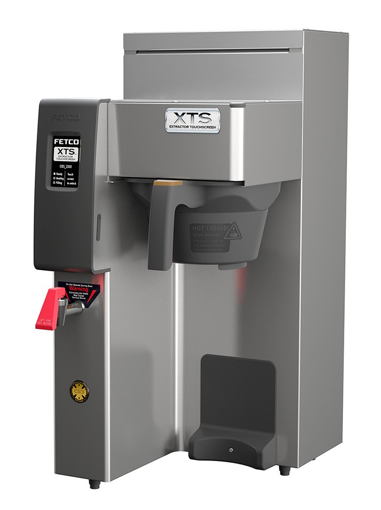 FETCO CBS-2131XTS Brewer, Stainless Steel, 3.0 L / 1.0  gal; touchscreen