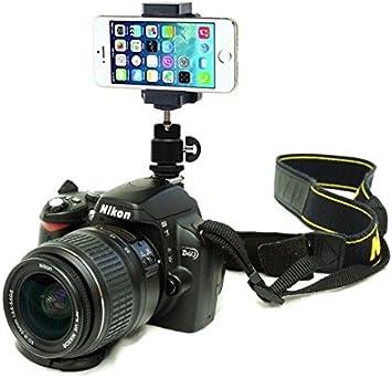 DSLR cámara para zapata de flash Soporte para Smartphone teléfono ...
