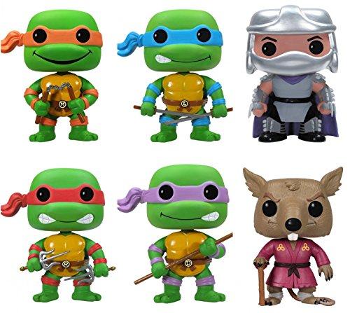 Ninja Turtle Pop (Funko POP Teenage Mutant Ninja Turtles Pop Vinyl Figures - Set of 6)
