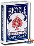 Jeu de 54 cartes Bicycle : Magie Dos Bleu /Face Blanche