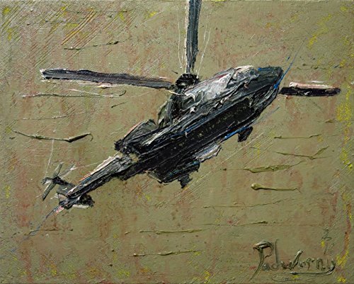 (UNTITLED n181 - original oil painting chopper art)