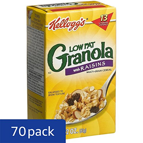 Review Kellogg's Granola with Raisins,