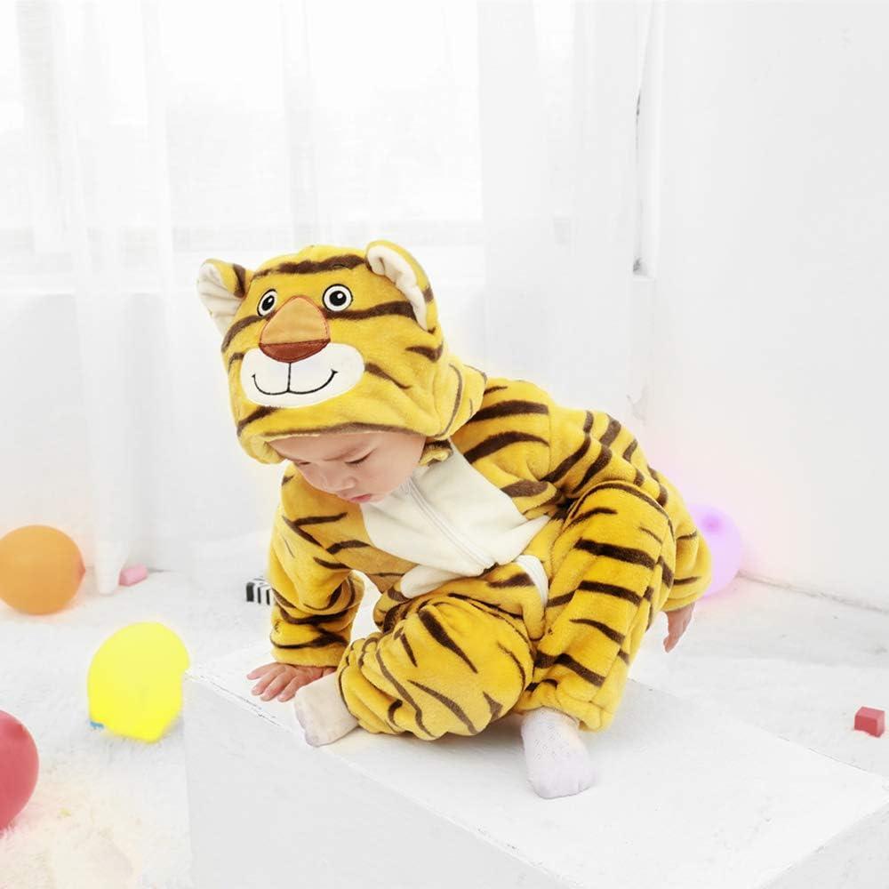 Walmeck - Mono de Franela para bebé, para niños y niñas, con ...