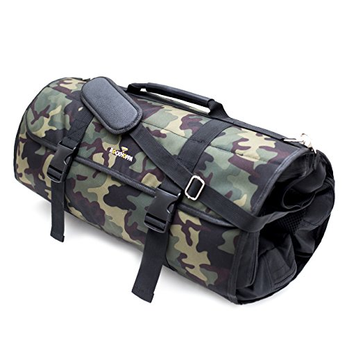 Weekend Holdall Duffel Travel Roll Up Bag for Casual Travel, Camping and Festivals - Fits within Cabin Luggage - Camouflage - by (Camo Garment)