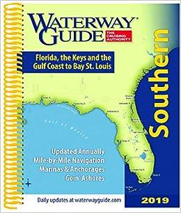 Map Of Southeastern Florida Coast.Waterway Guide Southern 2019 Florida The Keys And The Gulf Coast
