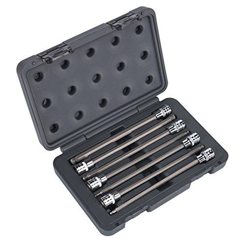 (Sealey AK2188 Ball-End Hex Socket Bit Set 7pc 3/8