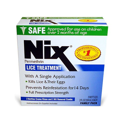 NIX Cream Rinse Family 2x2 Ounce product image
