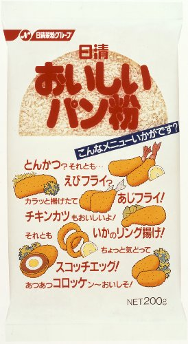 Nisshin delicious bread crumbs 200gX20 pieces by Nisshin Foods