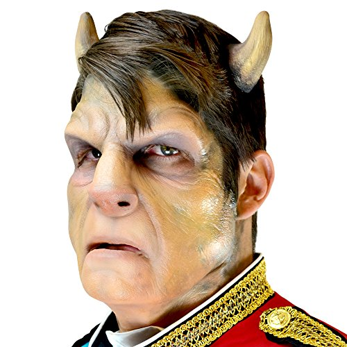 Woochie Classic Latex Horns - Professional Quality Halloween Costume Makeup - Beastly -
