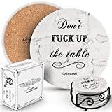 Urban Mosh Coasters for Drinks, Absorbent Drink