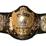 Christmas Sale $50 Off: WWF World Tag Team Championship Replica Title Belt - Brass Metal 4mm Plates