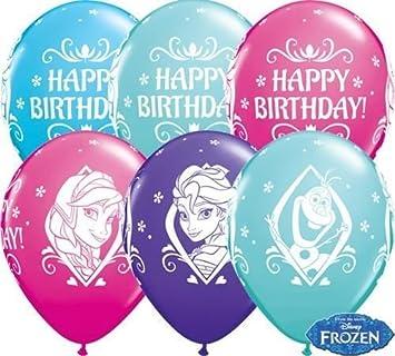 Qualatex 18676 de Frozen de Disney de felicitación de ...