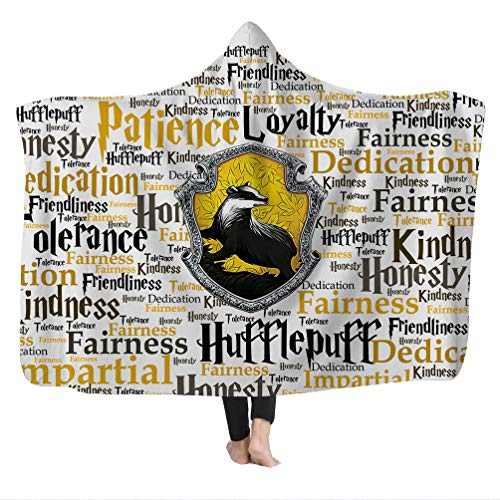 - Super Soft Cozy Microfiber Thickened Fleece Throw Wearable Travel Hooded Blanket in Cap Warm for Couch Sofa Bedding