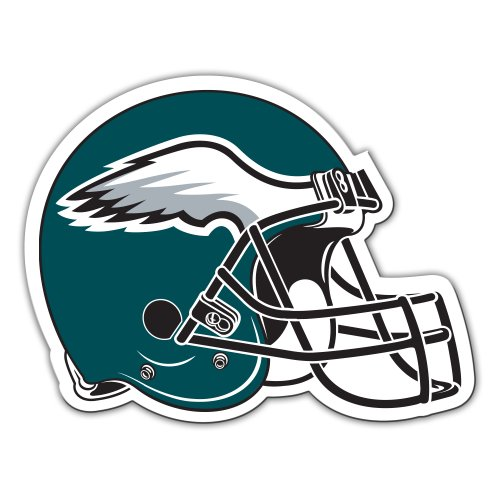 Fremont Die NFL Philadelphia Eagles 12-Inch Vinyl Helmet Magnet