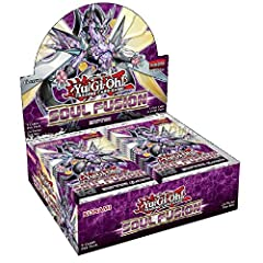 24 packs 9 cards per packFall's 100-card booster set, Soul Fusion, returns to the roots of Yu-Gi-Oh! with new Fusion Summoning strategies! Deck themes from the earliest years of Dueling get a new lease on life, and there are more new cards to...