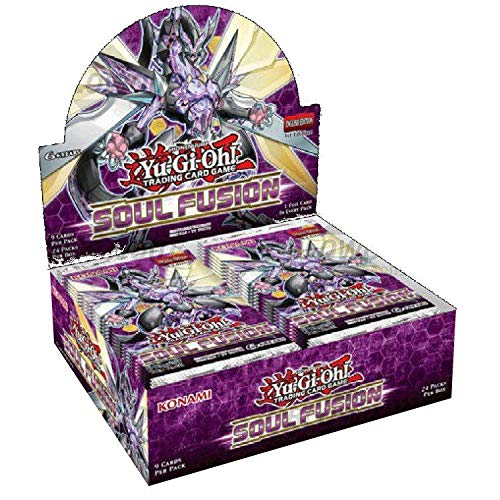Yu-Gi-Oh! TCG: Soul Fusion Booster Display (Edition Gi Yu 1st Cards Oh)