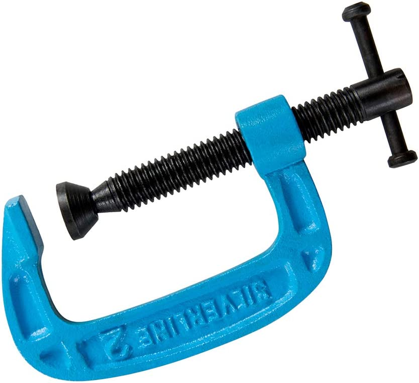 Silverline One-Handed Clamp