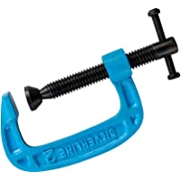 Silverline 277960 G-klämma, 50 mm, blå