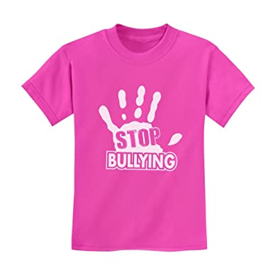 TeeStars - Stop Bullying Speak Up Pink Shirt Day Anti-Bullying ...