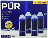 PUR MAXION Replacement Pitcher Filter - 4 PACK