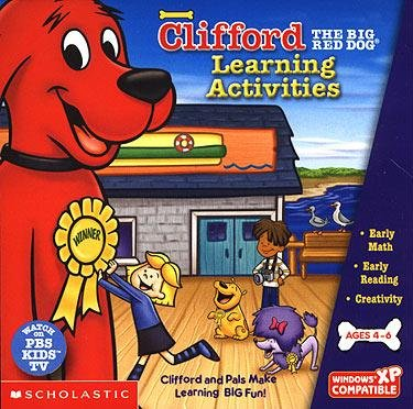 Clifford The Big Red Dog Learning Activities by Scholastic